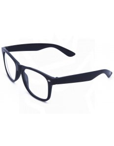 Brýle Wayfarer – černé čiré