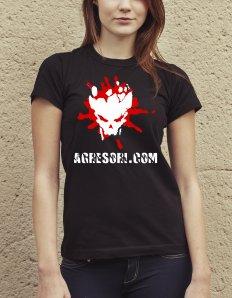 Dámské tričko s potiskem – Agresoři