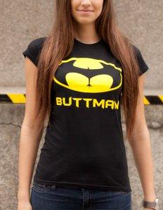 Dámské tričko s potiskem – Buttman