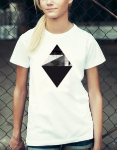 Dámské tričko s potiskem – Core