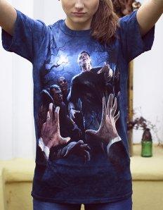 Dámské tričko s potiskem – Last Breath