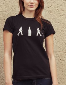 Dámské tričko s potiskem – Methanol