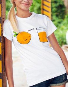 Dámské tričko s potiskem – Mom?