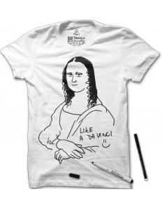 Dámské tričko s potiskem – Udělej si sám