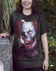 Dámské tričko se zvířecím potiskem (the mountain) Zombini