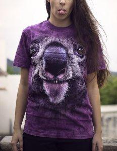 Dámské tričko se zvířecím potiskem (the mountain) Koala