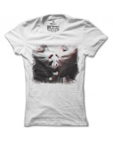 Dámské tričko s potiskem – 3D girls