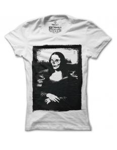 Dámské tričko s potiskem – Creepy