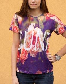 Dámské tričko s potiskem – CUNT