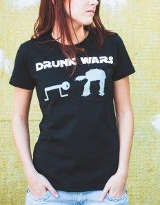 Dámské tričko s potiskem – Drunk Wars
