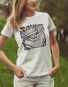 Dámské tričko s potiskem – Iconic