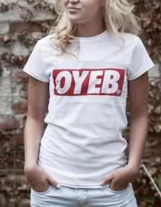 Dámské tričko s potiskem – OYEB