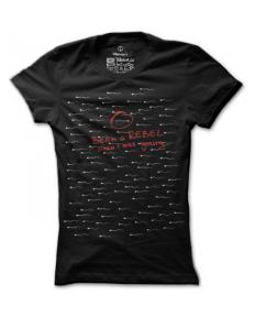 Dámské tričko s potiskem – Rebel