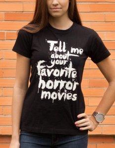 Dámské tričko s potiskem – Scream