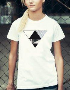 Dámské tričko se zvířecím potiskem (the mountain) Spike