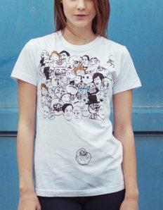 Dámské tričko s potiskem MEME – All Meme Faces