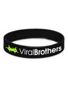 Náramek ViralBrothers - černý