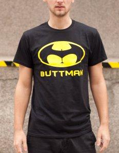Pánské tričko s potiskem – Buttman