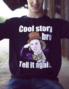 Pánská trička s potiskem – Cool story bro