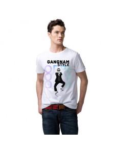 Pánské tričko s potiskem – Gangnam style