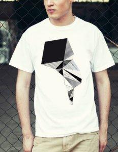 Pánské tričko s potiskem – Swirl