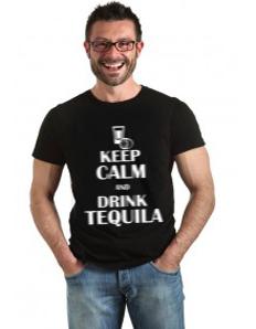 Pánské tričko s potiskem – Tequila