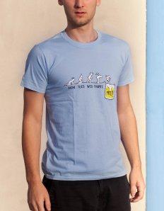 Pánské tričko s potiskem – Thanks God It's Friday