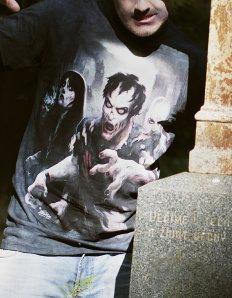 Pánské tričko s potiskem – Zombie Apocalypse