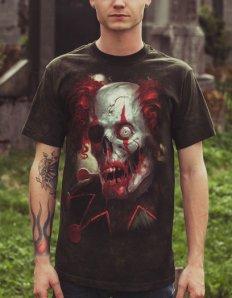 Pánské tričko s potiskem – Zombini