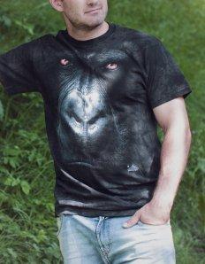 Pánské tričko se zvířecím potiskem (the mountain) Gorilla