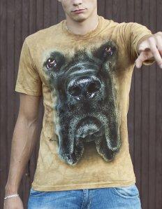 Pánské tričko se zvířecím potiskem (the mountain) Mastiff