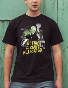 Pánské tričko s potiskem – Alligator