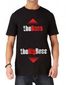 Pánské tričko s potiskem – Big Boss