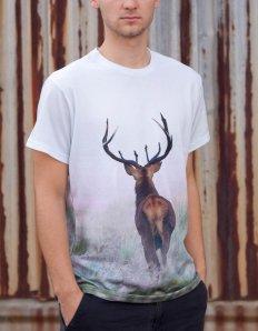 Pánská trička s potiskem – Deer