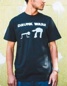 Pánské tričko s potiskem – Drunk Wars