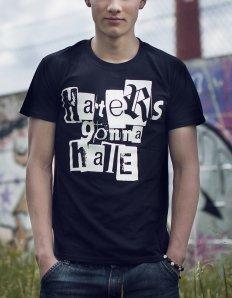 Pánská trička s potiskem – Haters Gonna Hate