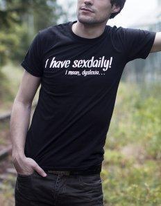 50ff721e871 Pánské tričko s potiskem – I have sexdaily