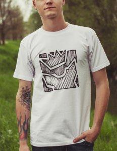 Pánské tričko s potiskem – Iconic