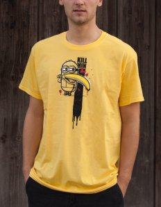 Pánské tričko s potiskem – Kill Min