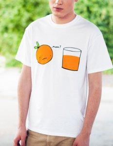 Pánské tričko s potiskem – Mom?