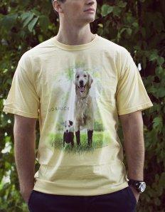 Pánské tričko se zvířecím potiskem (the mountain) Mud and Muck