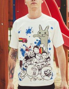 Pánské tričko s potiskem MEME – Meme legends