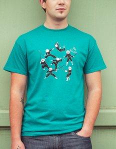 Pánské tričko s potiskem MEME – Meme ninjas