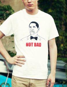 Pánské tričko s potiskem MEME – Not bad