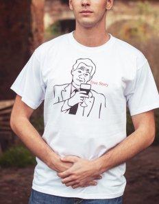 Pánské tričko s potiskem MEME – True story