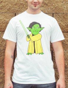 Pánské tričko s potiskem MEME – Yoda Maguire