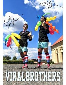 Plakát ViralBrothers – Limitovaná Edice (Podepsaný)