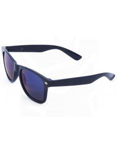 Sluneční brýle Wayfarer – černé – modrá zrcadlová skla