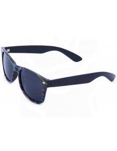 Sluneční brýle Wayfarer – černé s proužky