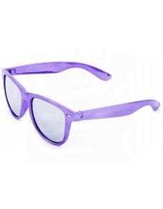 Sluneční brýle Wayfarer – fialové lesklé
